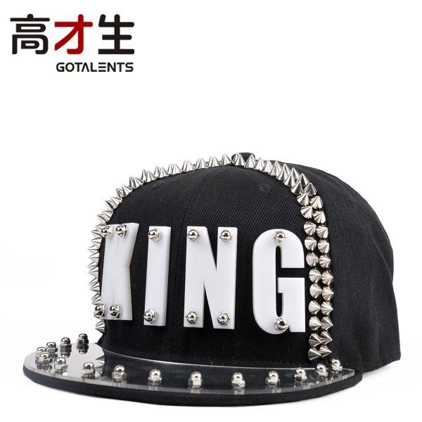 COOL-Cheap-Acrylic-plastic-font-b-sheet-b-font-letter-king-rivet-hiphop-cap-hip-hop