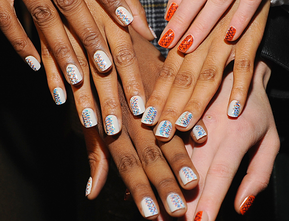 nail-art-new-york-fashion-week-fall-2013-creatures-of-the-wind