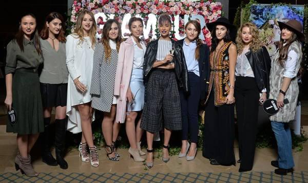 echipa alinei ceusan la glamour street fashion show