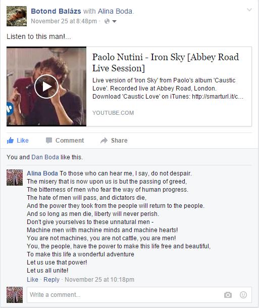 paolo nutini facebook