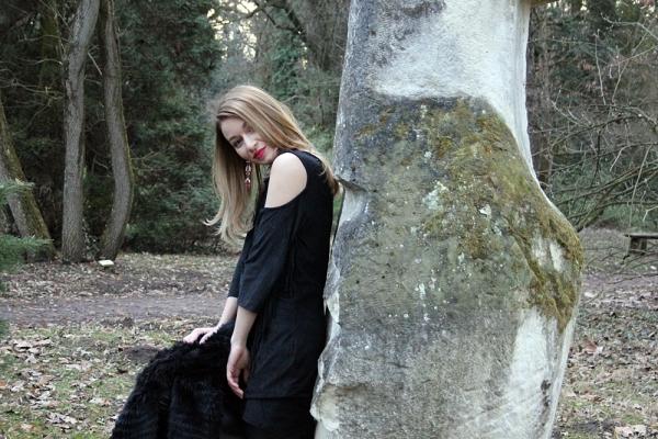 bershka all black