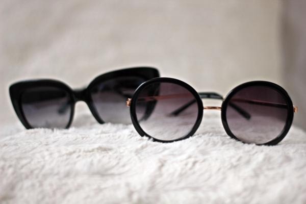 ochelari de soare cat eye - rotunzi stradivarius