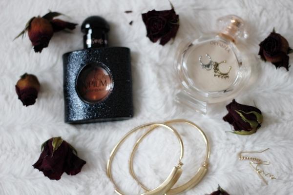 accesorii hm parfum black opium olympea