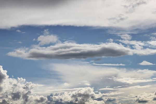 cer cu nori pufosi